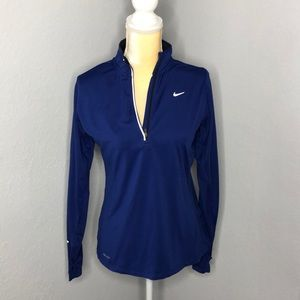 Nike -Fitted quarter zip